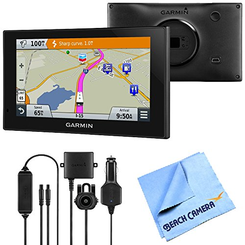 Garmin 010-01535-00 RV 660LMT Automotive GPS Wireless Backup Camera Bundle includes Garmin RV 660LMT GPS, BC 30 Wireless Backup Camera and Beach Camera Microfiber Cloth by Beach Camera