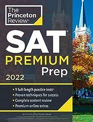 Princeton Review SAT Premium Prep, 2022: 9 Practice Tests + Review & Techniques + Online Tools (2021) (Col