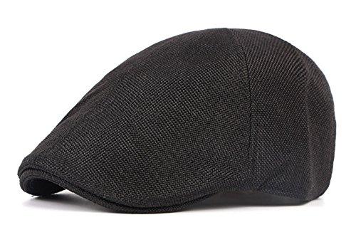 Duckbill Cap - Qunson Men's Duckbill Ivy Newsboy Cap Scally Hat