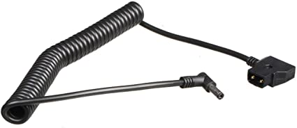 Atomos D-Tap To DC Barrel Coiled Cable for Shogun, Ninja Inferno and Flame Monitor Recorder