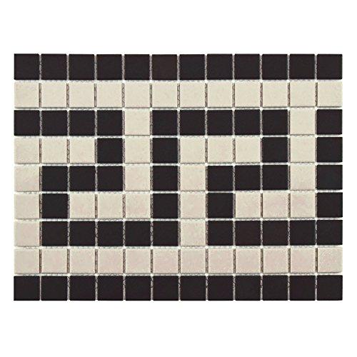 Somertile FXLGGKB Hex Greek Key Border Porcelain Floor an...