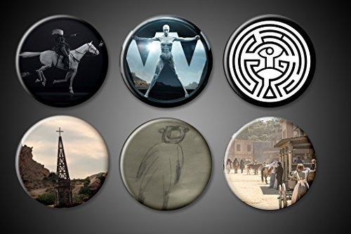 Westworld Magnets 1