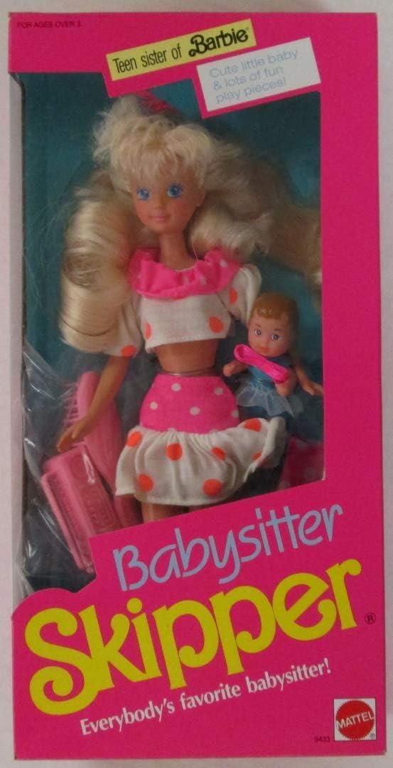 Barbie Babysitter SKIPPER Doll (1990): Amazon.it: Giochi e giocattoli