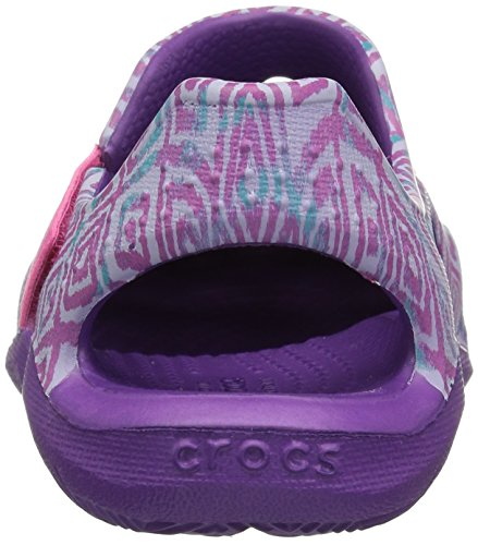 Pictures of Crocs Kids' Swiftwater Wave Graphic Sandal * 8