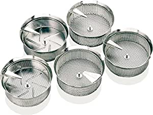 Paderno World Cuisine Sieve for 8-Quart Food Mill with 1MM Perforations