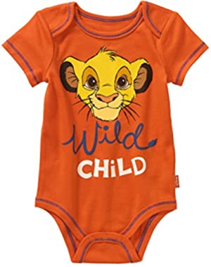Disney Lion King Baby Boys Bodysuit Dress Up Outfit