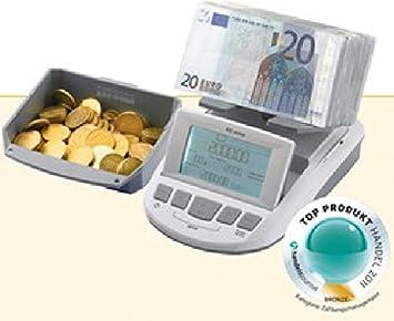 Dinero Báscula RS 1000 billetes + monedas surtidos Contar: Amazon.es: Oficina y papelería