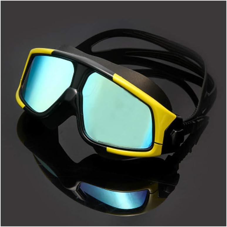 TGBN Gafas de natación recubiertas de Gran tamaño con ...