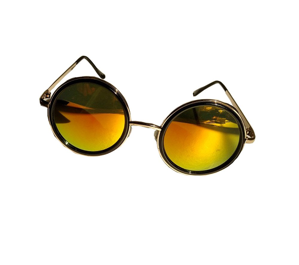 Alucard Cosplay Glasses Vintage Steampunk Mirror Sunglasses