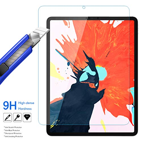iPad Pro 11 Screen Protector 2018, OEAGO [Anti-Glare] [Anti-Fingerprint] [Case Friendly] Premium Matte Film Shield Tempered Glass iPad Pro 11 inch (2nd Generation)(2018 Released Tablet)