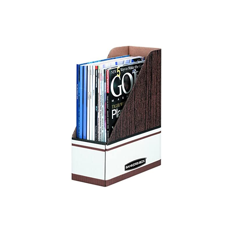 Bankers Box Magazine File Holders, Overs