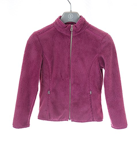 Price comparison product image Bogner girls medium(7/8) fleece Anke lt raspberry full frontzip