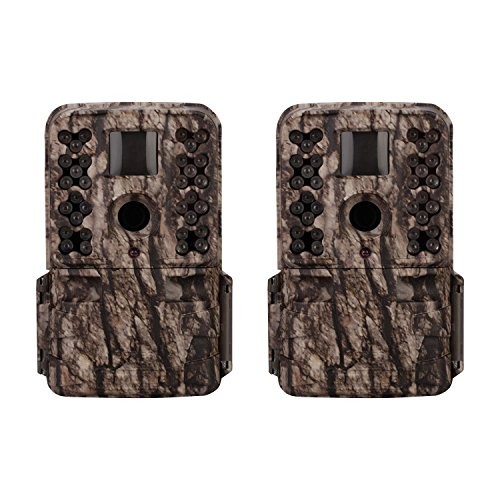 Moultrie M-50 20MP Low Glow Infrared Game Camera (2 Pack)