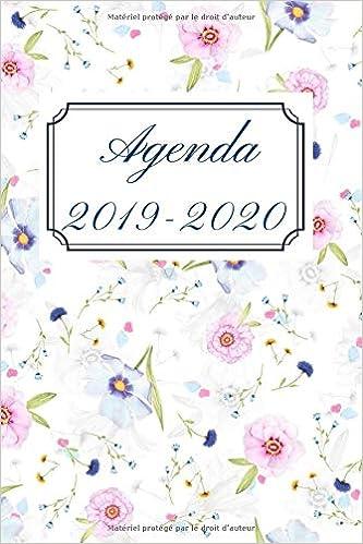 Agenda 2019 - 2020: Agenda Semainier de Août 2019 à Août ...