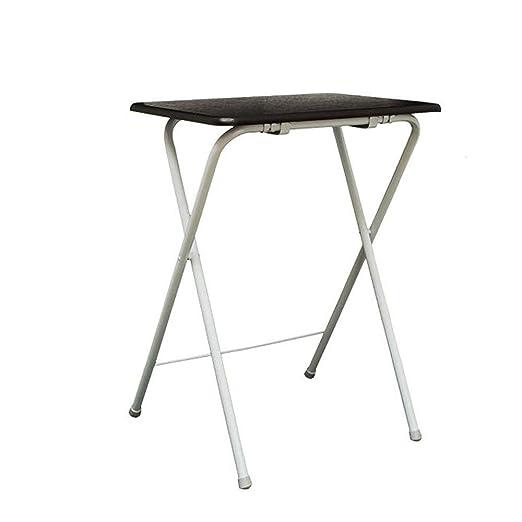 MJY Mesa de pared, mesa de diseño creativo, mesa plegable marrón ...