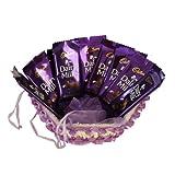 Dairy Milk Basket Chocolate Hamper - 500 gms