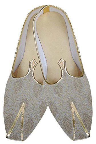 Indian Mens INMONARCH Cream Shoes MJ0160 Classic Wedding xvRRPwz