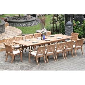 51RtPrbnRZL._SS300_ Teak Dining Tables & Teak Dining Sets