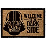1art1® Star Wars Door Mat Floor Mat - Darth Vader, Welcome To The Dark Side (24 x 16 inches)