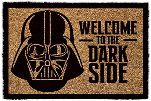 1art1 Star Wars Door Mat Floor Mat - Darth Vader, Welcome to The Dark Side (24 x 16 inches) from 1art1