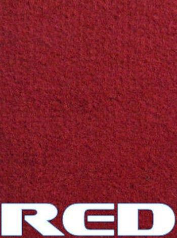 Marine Outdoor Bass/Pontoon Boat Carpet/16 oz (Red, 6'x16') -