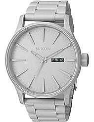 Nixon Unisex The Sentry SS X Primer Collection Silver Cerakote Watch