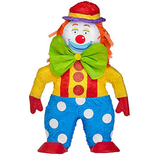 Circus Clown Pinata -