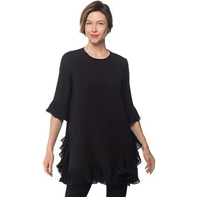 fce24aac520 Joseph Ribkoff Women s Tunic Dress Style 191239 Black at Amazon Women s  Clothing store