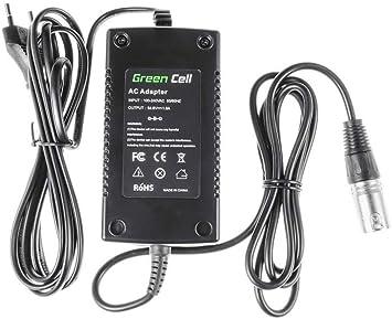 Green Cell® Cargador (54.6V 1.8A 98W) para Prophete Radrover Raleigh Ranger Specialized Triumph Velocity E ...