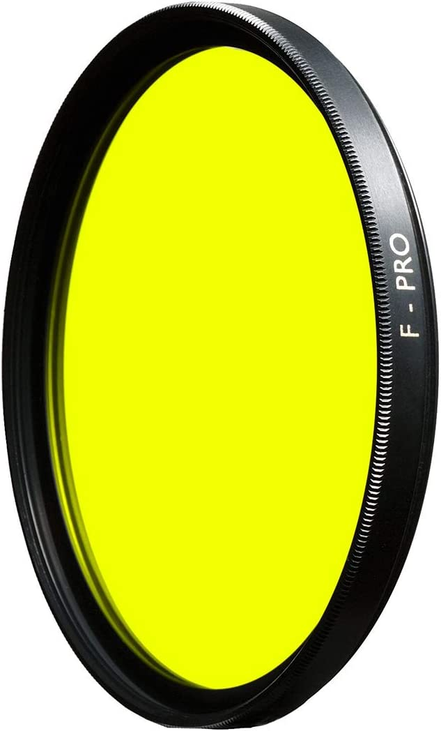 B+W 77mm Yellow Camera Lens Contrast Filter with Multi Resistant Coating 022M