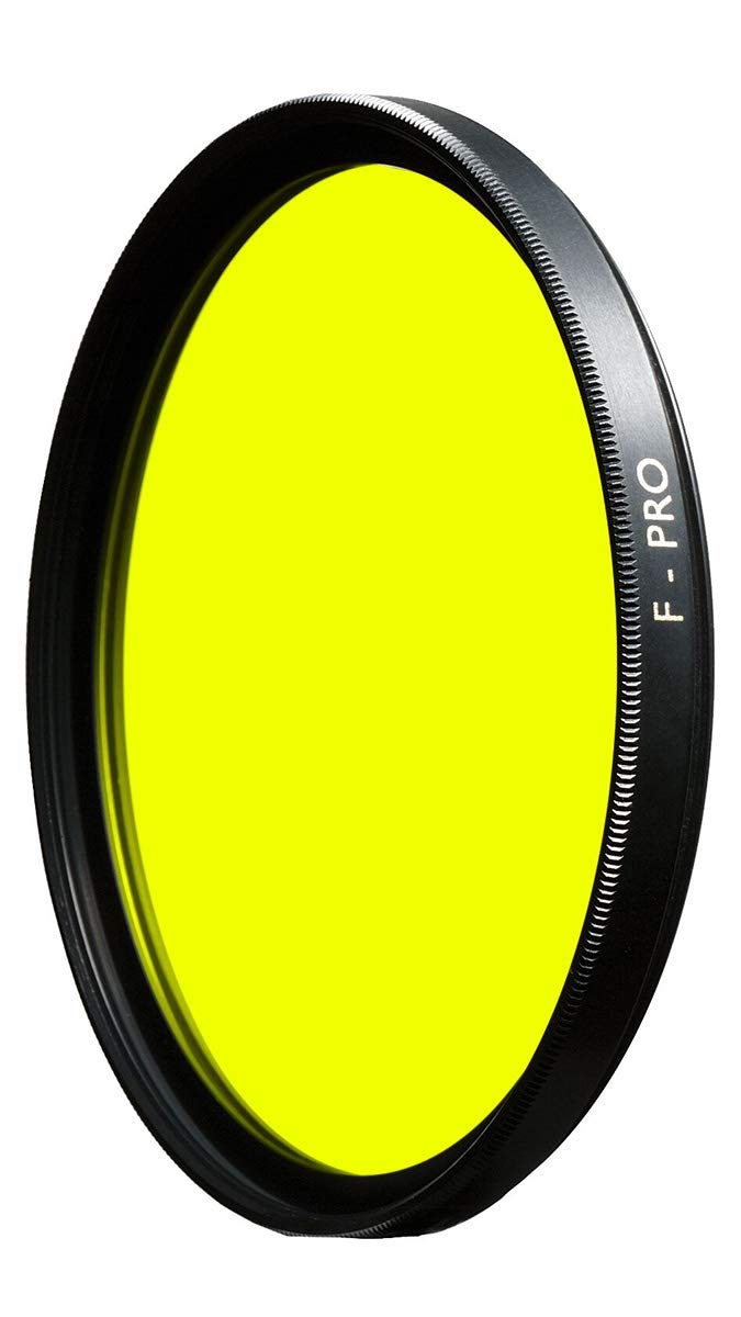 B+W 43mm Yellow Camera Lens Contrast Filter with Multi Resistant Coating (022M) by B + W
