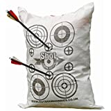 Archery Target Shot Stoppa Bag FILL YOURSELF Archery Crossbow Target Will Stop Arrows & Crossbow Bolts at 10ft 2 Finger Removal
