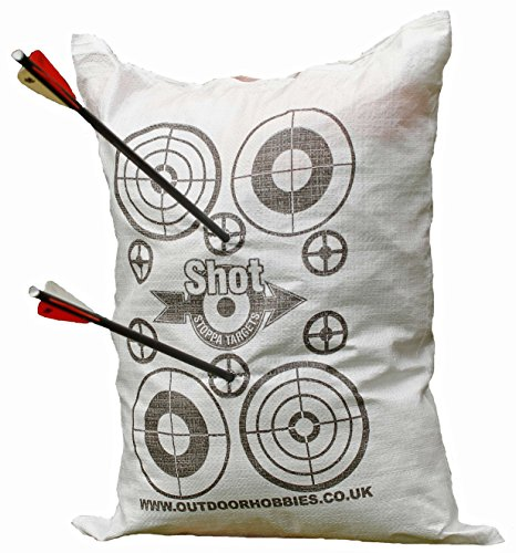 Archery Target Shot Stoppa Bag FILL YOURSELF Archery Crossbow Target Will Stop Arrows & Crossbow Bolts at 10ft 2 Finger Removal (Archery Targets Cheap compare prices)