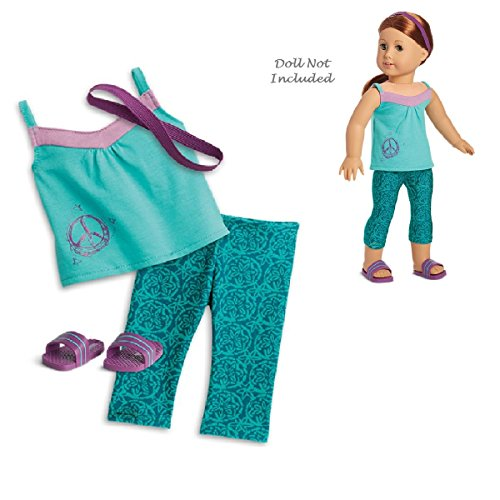 American Girl Truly Me Go With the Flow Outfit in Bag for 18