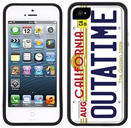 TD LLC -California Outatime Back to the Future-Rubber Case for Apple iPhone 7