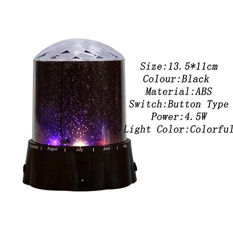 Cosmos Star Sky Projection Lámpara de noche Proyector LED Luz de ...