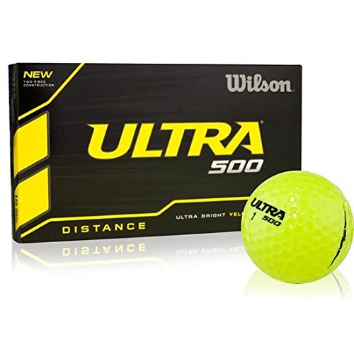 Wilson Ultra 500 Golf Ball (15-Pack), (Ultimate Distance Ball)