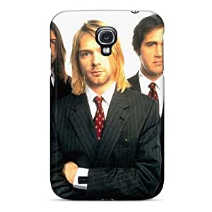 Samsung Galaxy S4 Ixz11752gUHt Allow Personal Design Stylish Nirvana Band Image Scratch Protection Cell-phone Hard Cover -EricHowe