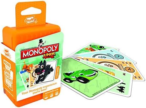 Shuffle Monopoly Junior Childrens Card Game by: Amazon.es: Juguetes y juegos