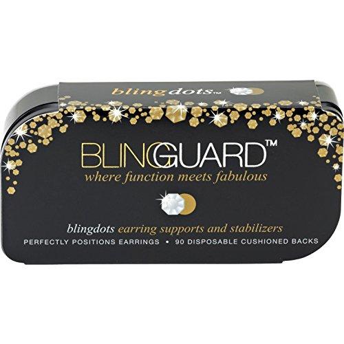 - BlingGuard Bling Dots for Earrings in Base Metal