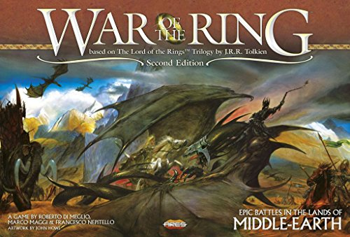 War of The Ring 2nd Edition - War The Board Of Game Rings