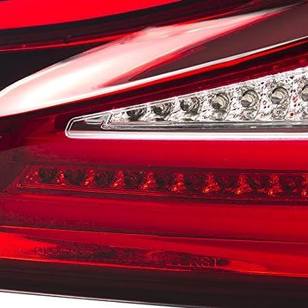 Spec-D Tuning LT-IS25006RGLED-TM Lexus IS250//350 Red Smoke Lens Rear LED Tail Brake Lights Pair