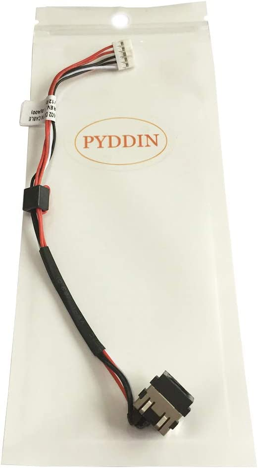PYDDIN Laptop DC Power Jack Harness Cable for Dell Inspiron 14 7447 15 3521 3537 P28F 15R 2521 3521 5521 5537 M531R 0YF81X DC30100M90