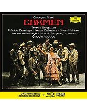 Bizet: Carmen 2CDs+Blu‐Ray