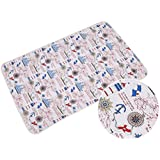 Reusable Portable Changing Pad Waterproof Sheet for...