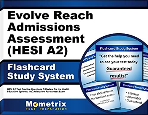 Evolve Reach Admission Assessment Hesi A2 Flashcard Study System
