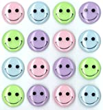 Jolee's Boutique Cabochons Dimensional Stickers, Pastel Smiley Face