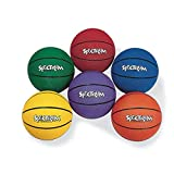 S&S Worldwide Spectrum Rubber Basketball - Intermediate-PURPLE