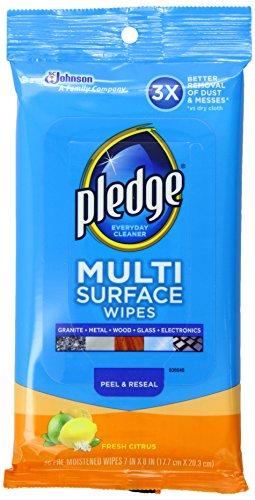 Pledge Multi Surface Everyday Wipes Fresh