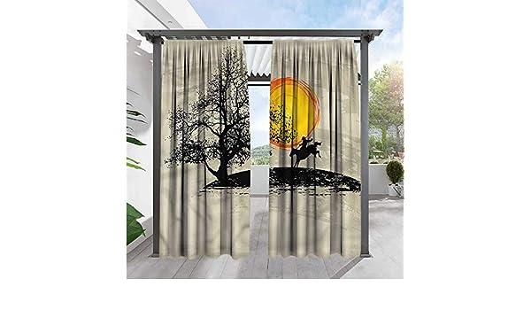 Marilds - Cortina para Puerta corredera, diseño de Vaquero: Amazon ...